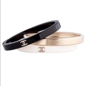 CHANEL Jewelry - SOLD on Tradesy! Chanel Bangle Bracelet Set of 3